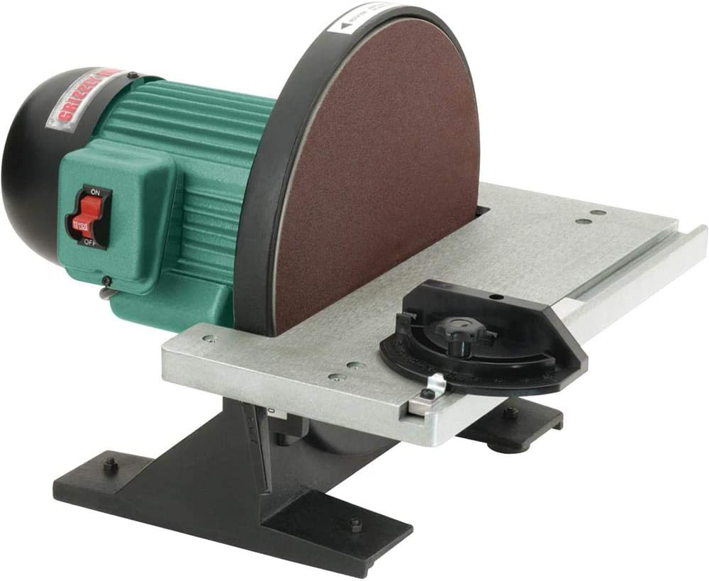 """Grizzly Industrial G7297 - 12"""" Disc Sander"""