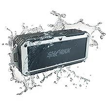 SHARKK ²O Bluetooth Speaker Waterproof Speaker Submersible Portable Speakers IP67 Outdoor Weatherproof Wireless Shower Speaker,SP-SK896WTR-GRY