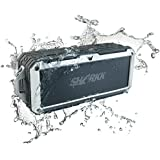 Waterproof Bluetooth Speaker Sharkk 2O IP67 Bluetooth Speaker Outdoor Pool Beach and Shower Portable Wireless Speaker