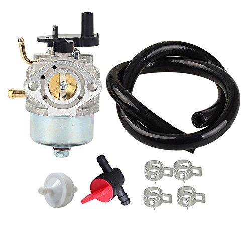 Panari Carburetor + Fuel Line Filter for Toro CCR2400 CCR2450 CCR2500 CCR3000 CCR3600 CCR3650 Snowblower