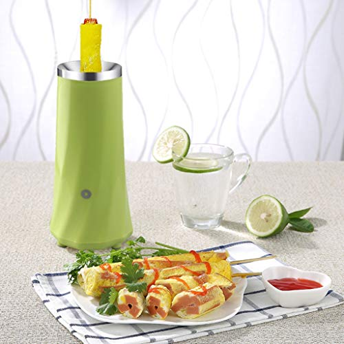 Kicpot Egg Master Roll Maker Multi-Function Breakfast Egg Roll Machine Home DIY Egg Cooker Fast and Durable(110-220V)(Green) by Kicpot (Image #3)