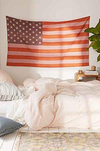 Small American Flag Tapestry By Monika Enterprises