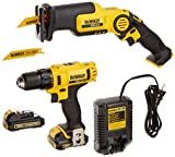 DEWALT DCK212S2 12-Volt MAX Drill Driver and Reciprocating Saw Kit For Sale