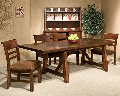 Intercon Bench Creek 6 Pc Dining Set (Includes Bench or 6 chairs)
