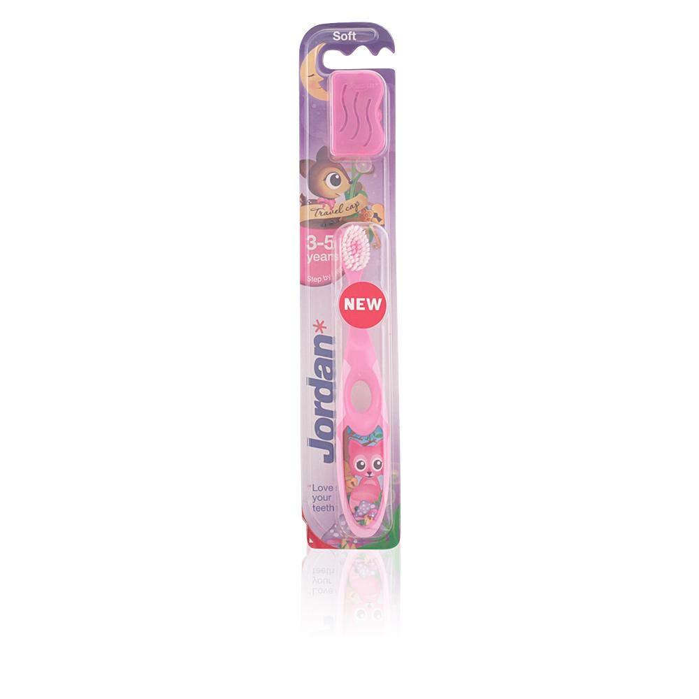 Jordan - Cepillo de dientes para niños (3 - 5 años), colores surtidos: Amazon.es: Salud y cuidado personal