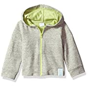 Robeez Baby Hooded Knit Jacket, Heather Grey, 3 Months