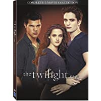 Twilight Saga 5 Movie Collection [DVD]