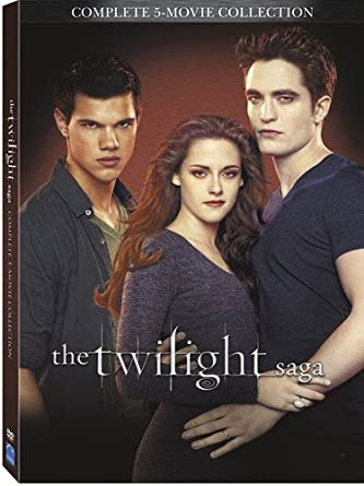 Amazon.com  Twilight Saga 5 Movie Collection  DVD   Kristen Stewart ... 7e55c6e067bd