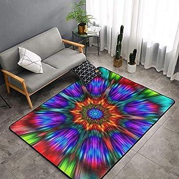 Amazon.com: Custom Colorful Tie Dye Area Rugs Carpet