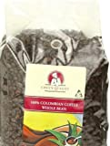 Chef's Quality Colombian Whole bean coffee, 2.5 Pound Bag
