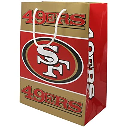033bf41d Image Unavailable. Image not available for. Color: NFL San Francisco 49Ers  Team Gift Bag