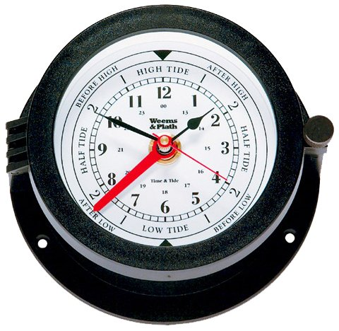 Weems & Plath Bluewater Collection Time and Tide Clock 150300