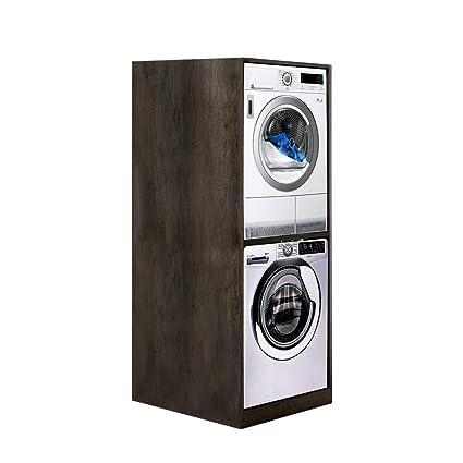 UNIKA - Colonna per inserimento lavatrice e asciugatrice senza ante ...
