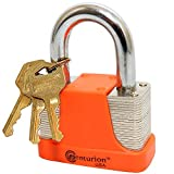 Centurion LAM Laminated Steel Padlock - High Security Body Armored Padlock (40mm Body)