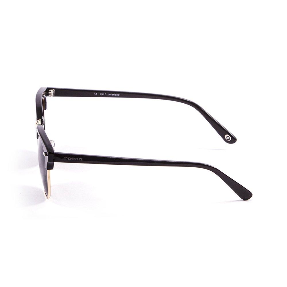 Ocean Sunglasses Mr.Bratt - lunettes de soleil polarisées - Monture : Noir Laqué - Verres : Fumée (70000.1) sHcgbh