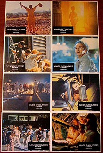 CLOSE ENCOUNTERS OF THE THIRD KIND ORIGINAL '77 LC SET SPIELBERG SCIENCE FICTION