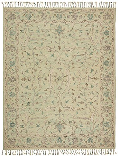 Cheap Stone & Beam Serene Transitional Wool Area Rug, 8′ x 10′, Multi