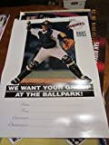1995 San Diego Padres poster Group ballpark bx-sd