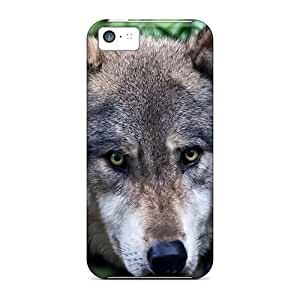 Quality CaroleSignorile Cases Covers With Wolf Predator Nice Appearance Compatible With Iphone 5c