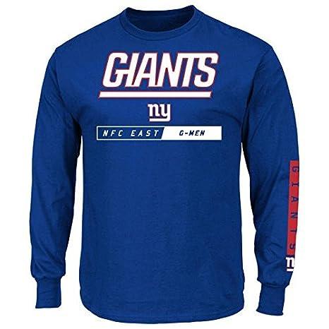 561ae567 Amazon.com : New York Giants Majestic NFL Men's Big & Tall