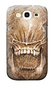 E2672 Alien Skull Fossil Funda Carcasa Case para Samsung Galaxy S3