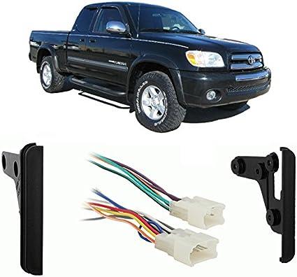 Fits Toyota Tundra Access Cab//Reg Cab 2004-2005 SDIN Harness Radio Dash Kit