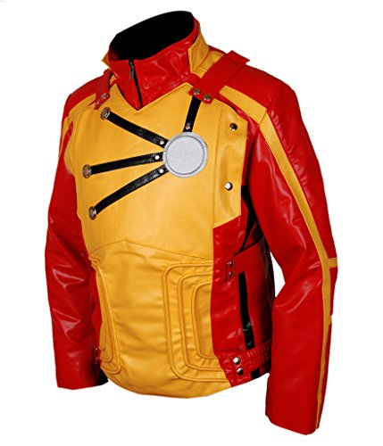 Firestorm Costume Legends Of Tomorrow - F&H Men's Legends of Tomorrow Firestorm Jacket M Red