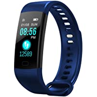Fitness Tracker, AUOKER Upgrade Heart Rate Monitor Activity Tracker Watch with Sleep Monitor, Step Counter, Calorie Counter, Fitness Band, Smart Bracelet for Kids Women and Men