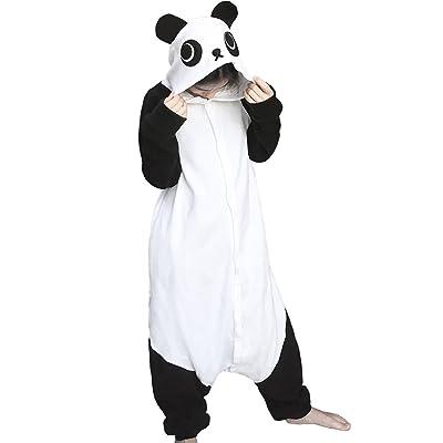 dressfan Unisexes Adulte Pyjama Animaux Panda Costume Cosplay