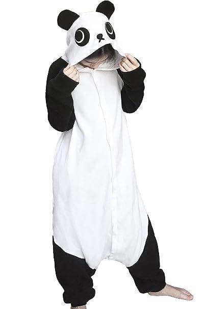 dressfan Unisex Adulto Animal Pijamas Traje Animal Panda ...
