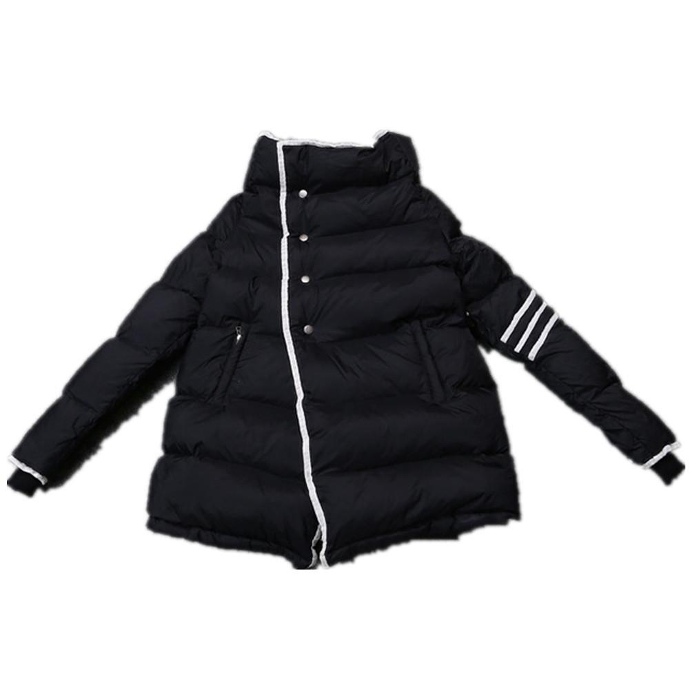 SHISHANG Lady abajo chaqueta engrosando abajo moda simple blanco abajo abajo abajo chaqueta tela con...