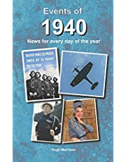 Events of 1940: news for every day of the year