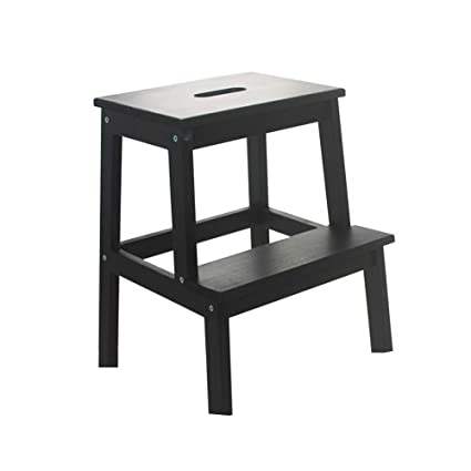 Magnificent Amazon Com Zxl Wood Step Stool Kitchen Stools Bathroom Caraccident5 Cool Chair Designs And Ideas Caraccident5Info