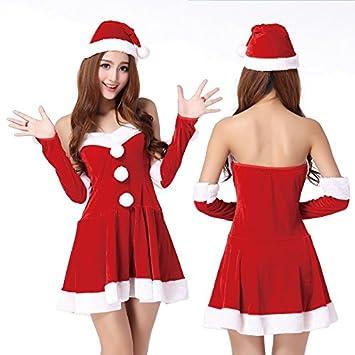 Vestido de Princesa de Navidad Productos para Adultos Ropa Interior Uniformes Traje de Tentación Traje de