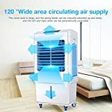 DUOLANG White and Blue Color LL35 Air Cooler Portable for Bedroom