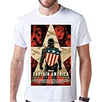 Camiseta Capitão América Camisa Vingadores fca6