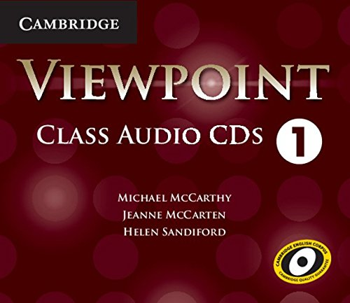 Viewpoint Level 1 Class Audio CDs (4) by Brand: Cambridge University Press