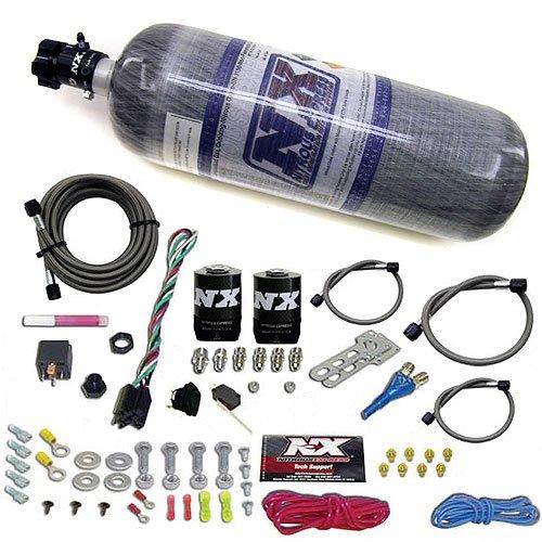 10 Nitrous Efi System Pound - Nitrous Express 2091510 Universal EFI Nitrous System with 10 lb Nitrous Bottle