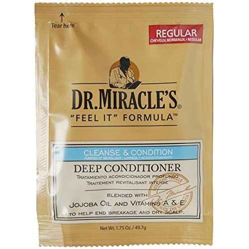 Dr. Miracle's Feel It Formula Deep Conditioning Treatment, 1.75 oz (Pack of 4)