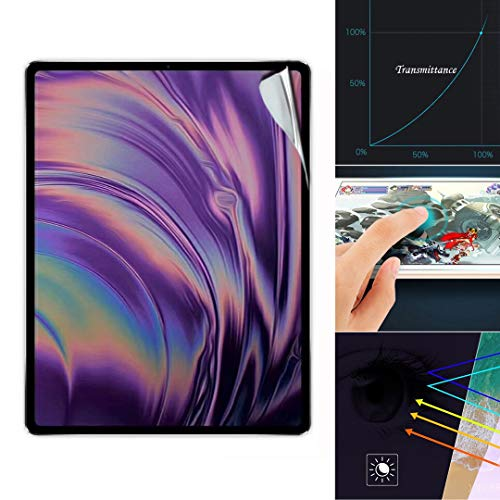 YRD TECH 1Pc Compatible Ipad Pro 12.9 inch 2018 Clear Soft Hydrogel Film TPU Screen Protector (Clear)