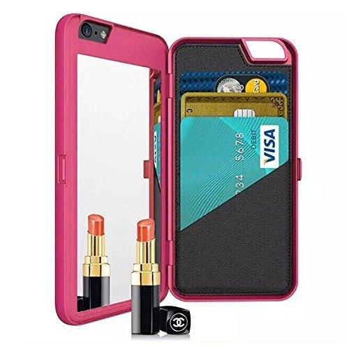 iPhone 6 Plus Case, NOVPEAK Women Fashion Multi-function Hid
