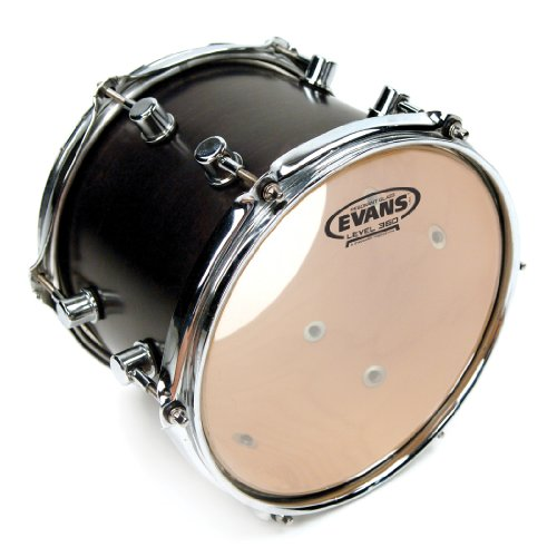 Evans Resonant Glass Drum Head, 10 Inch ()