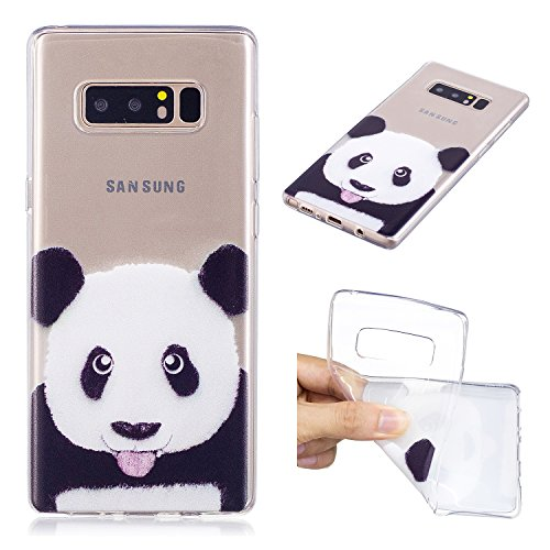 info for 8af03 8245c Galaxy Note8 Case, MerKuyom [Clear Transparent] [Slim-Fit] Flexible ...