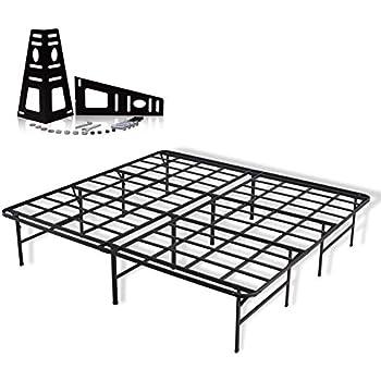 Amazon Com Rimus King Heavy Duty Steel Platform Bed Frame