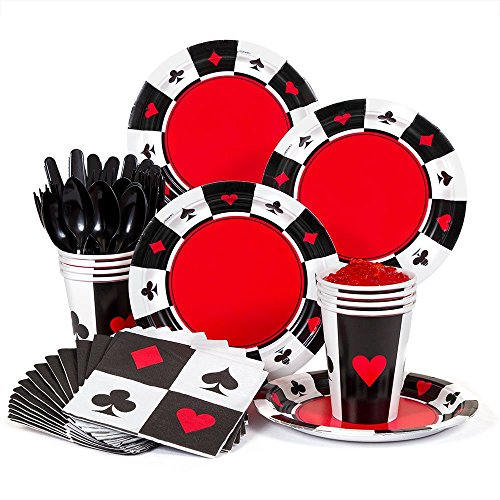 (Casino Party Supplies Standard Kit -Serves)