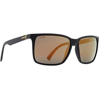 90014b47b7 Von Zipper Lesmore Wildlife Polarized Plus Sunglasses-Black Satin-Gold Flash