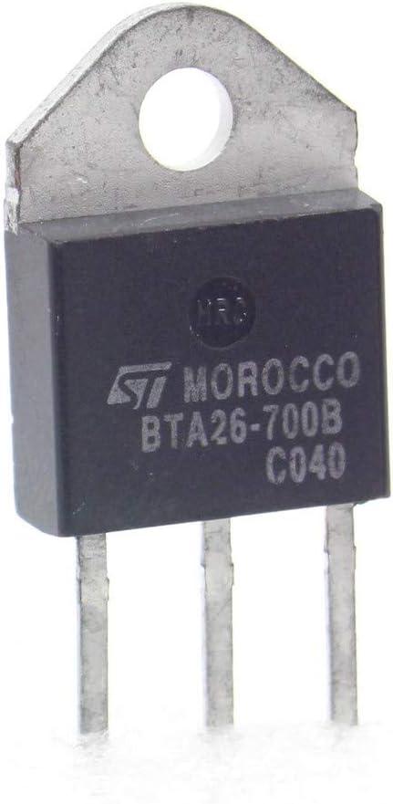 281tran087 STMicroelectronics 700V 25A 1x Triac BTA26-700B