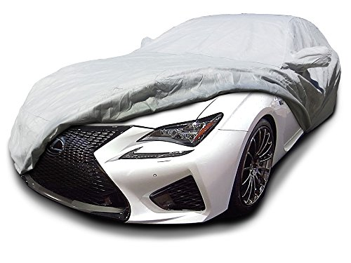 CarsCover Custom Fit 2015-2019 Lexus RC200t RC300 RC350 RCF Sport Car Cover Heavy Duty Weatherproof Ultrashield Covers RC 200t 300 350 RC-F