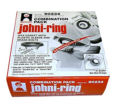 Oatey 90234 Johni-Ring with Plastic Horn