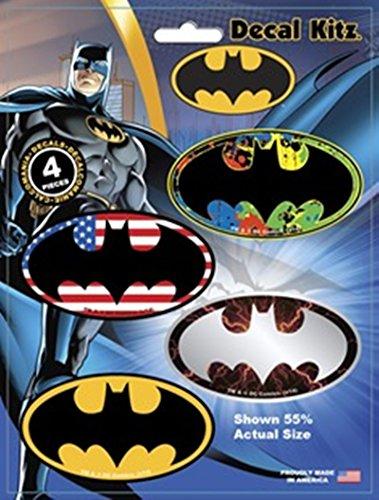 CHROMA 45013 Batman Logo Colored Decal Kit - 4 Piece